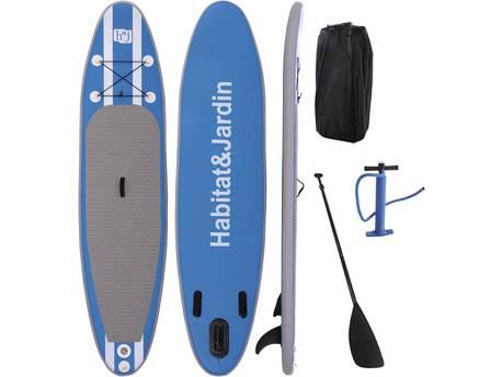 "Paddle ""Sup wave A2"" - 305 x 75 x 10 cm - Bleu"