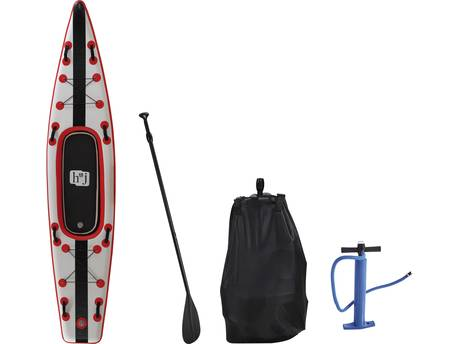 "Paddle ""Sup wave K1"" - 365 x 76 x 15 cm - Rouge"