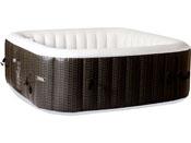 Spa Gonflable Nice en PVC - 6 places - Marron/Crème