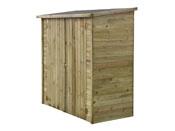 "Abri jardin bois adossable ""Lipki"" - 170 x 80 cm - 12 mm"
