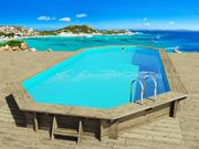 "Piscine bois "" Ibiza "" - 8.57 x 4.57 x 1.31 m"
