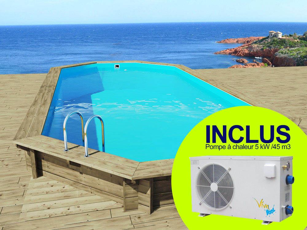 piscine bois sevilla – 8.57 x 4.57 x 1.45 m