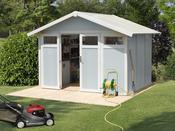 """Abri jardin """"Utility 7.5"""" - 7.53m² - 3,15 x 2,39 x 1.88 m - 26mm"""
