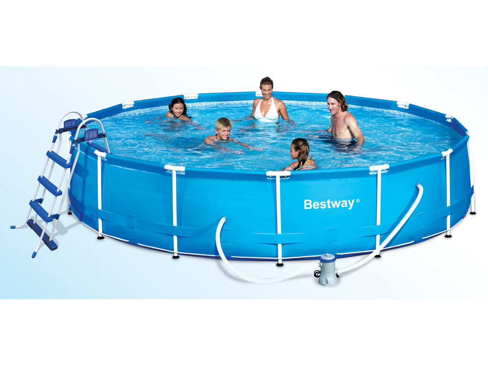 Piscine tubulaire ronde x m 87537 for Piscine tubulaire 1 22