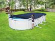 Bâche 4 saisons pour Hydrium Steel Wall Pool ovale - 7.40 x 3.60 m
