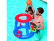 Panier de Basket flottant + 1 Ballon + 3 Cerceaux - 59 x 59 x 49 cm