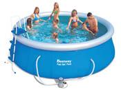 """Piscine autoportante ronde """"Fast set Pools"""" - Ø 4.57 x 1.22 m"""