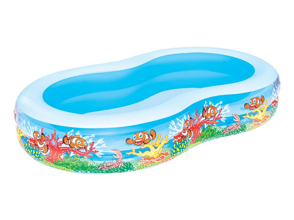 Piscine play pool familiale en huit x x for Piscine en huit