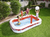 Piscine gonflable enfants Volley - 2.54 x 1.68 x 0.97 m