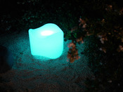 "Pouf luminaire ""Poof"" - 47 x 37 cm"