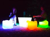 "Table luminaire ""Isloon Table"" - 60 x H 51 x 80 cm"