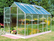 "Serre verre ""Popular 106"" - 6.2 m² - 3.19 x 1.93 x 1.95 m"