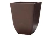 """Pot carré """"Chili"""" 39 x 39 ×46 cm.  - Cèdre"""