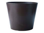 "Pot rond ""Amsterdam"" Ø 40 × 33,3 cm. - Ardoise"