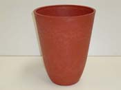"""Pot rond """"Pérou"""" Ø 49 ×56 cm. - Rouge cerise"""