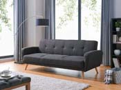 CANAPE CLIC-CLAC ARIANA - 3 PLACES - GRIS