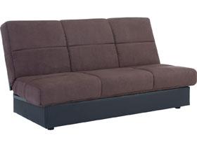 canape clic clac enzo 3 places chocolat 93366 93369. Black Bedroom Furniture Sets. Home Design Ideas