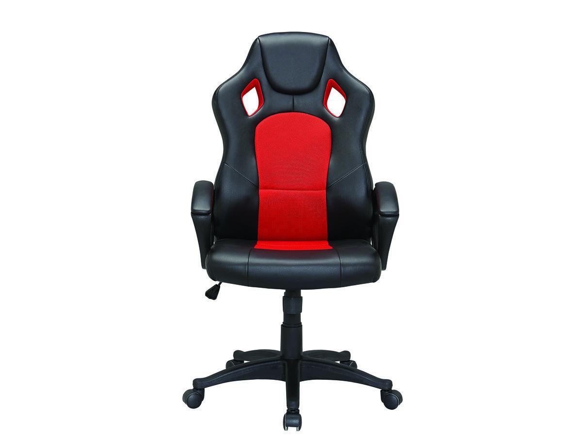 fauteuil de bureau roulettes futur rouge 85731. Black Bedroom Furniture Sets. Home Design Ideas