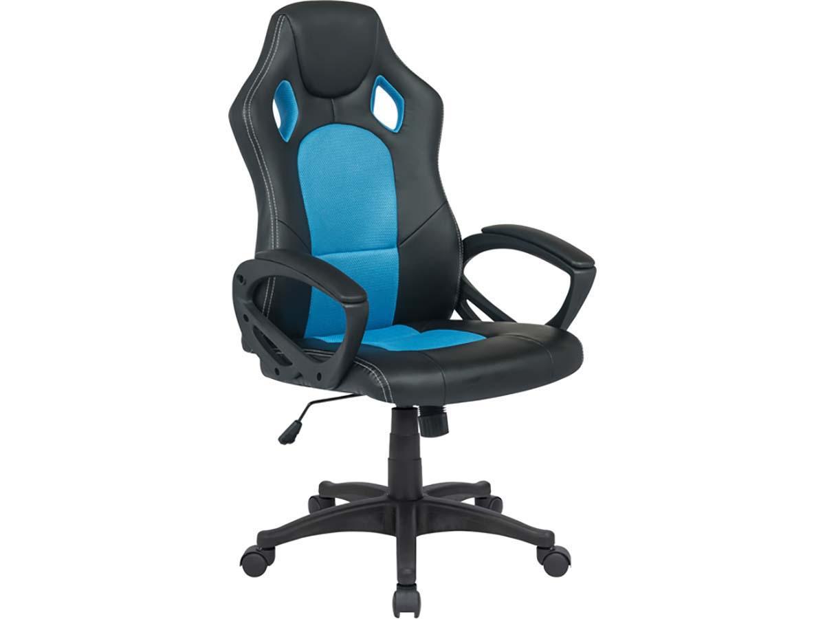 fauteuil de bureau roulettes futur bleu 85731 85735. Black Bedroom Furniture Sets. Home Design Ideas