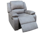 "Fauteuil relax ""York"" - Gris"