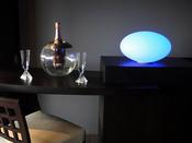 Galet lumineux - Ø 35cm + socle