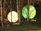 Eclairage de jardin Ø 55 cm (à l