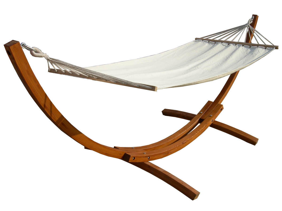 hamac bois relax dallas 3m ecru 69821. Black Bedroom Furniture Sets. Home Design Ideas