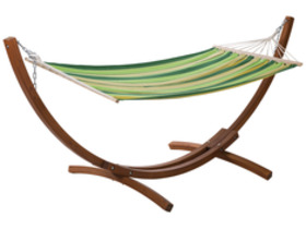 hamac bois relax dallas 3m vert melange 69821 93299. Black Bedroom Furniture Sets. Home Design Ideas