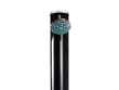 Douche solaire ronde PVC noire - 35L