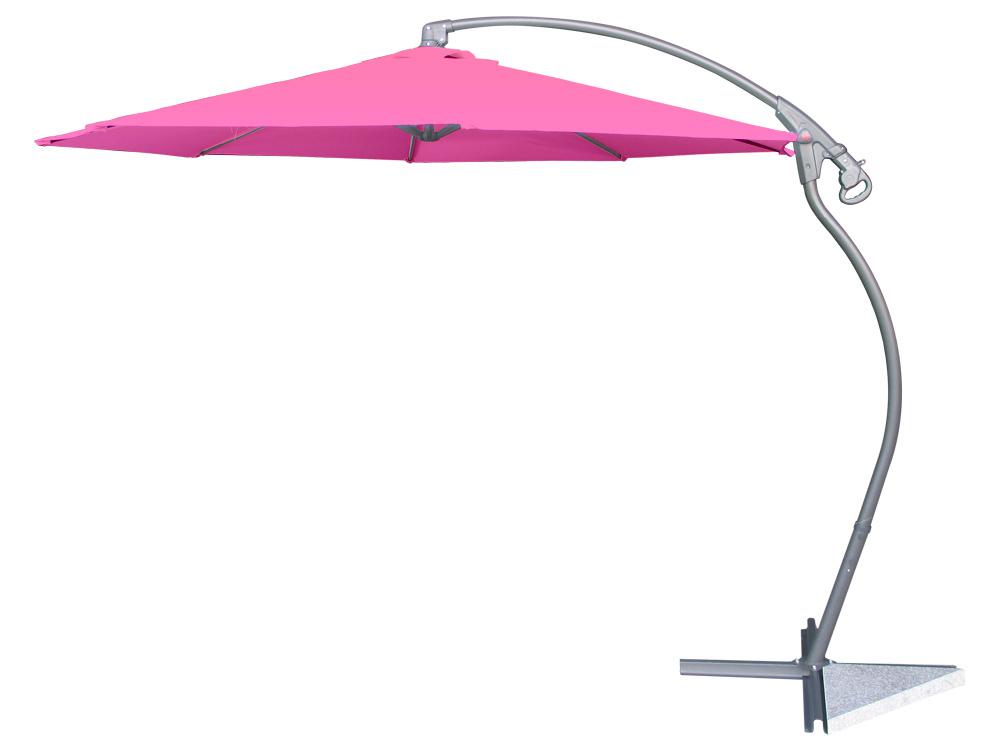 Parasol jardin déporté