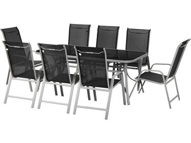 salon de jardin repas. Black Bedroom Furniture Sets. Home Design Ideas