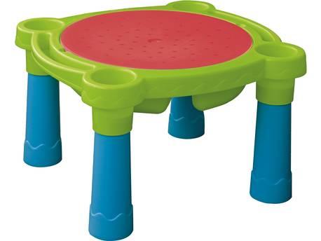 """Table de jeu sable et eau """"Plouf Plouf"""" - 0.73 x 0.66 x 0.44 m"""