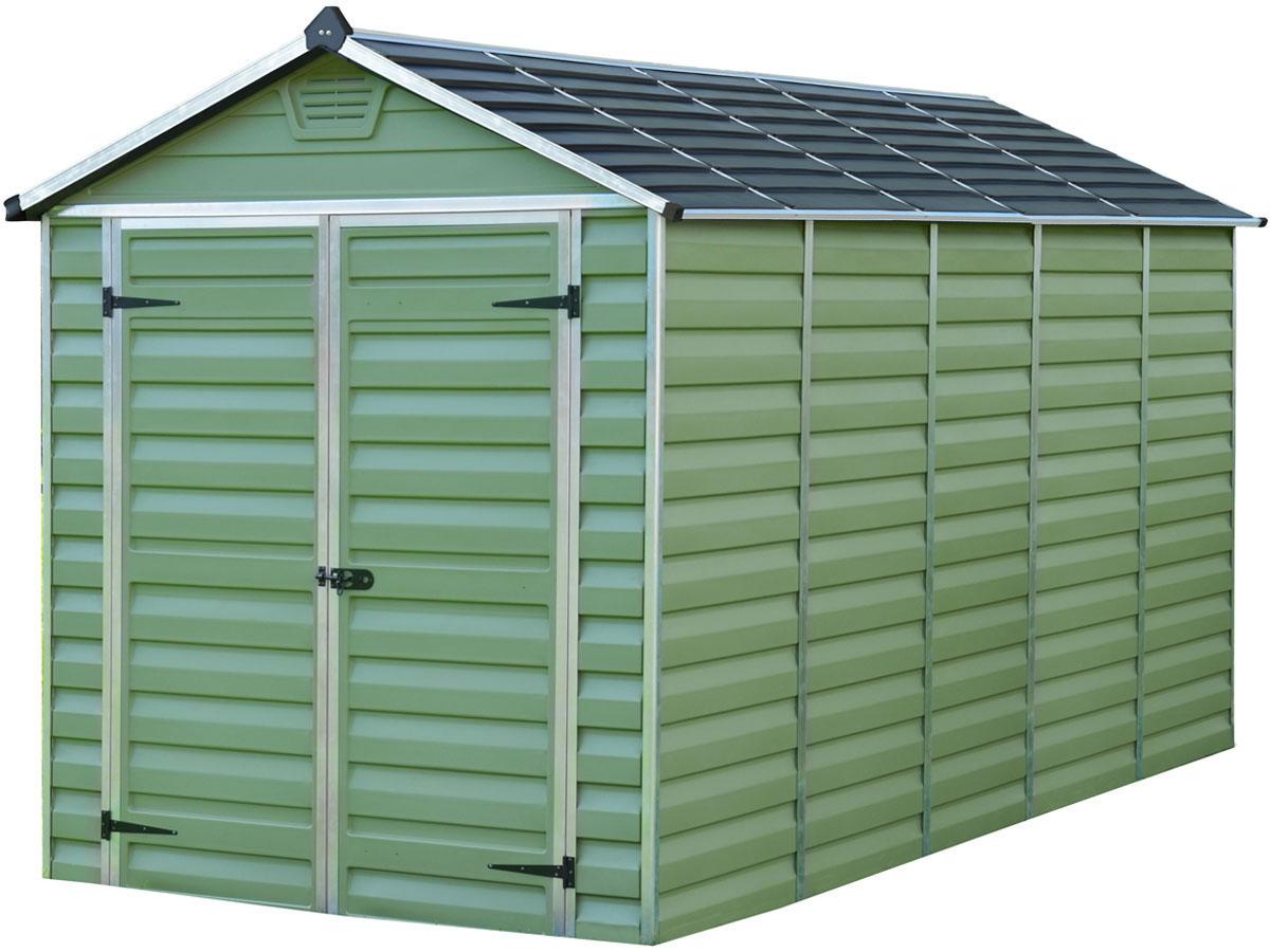 abri de jardin polycarbonate skylight 7m vert 69493 83654. Black Bedroom Furniture Sets. Home Design Ideas