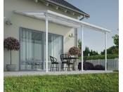 "Pergola Veranda ""Tuscany"" - 3 x 4.25m - Blanc"