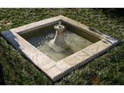 """Bassin carré """"Eden"""" - 170 x 170 cm"""