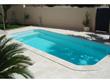 """Lot de 41 Margelles de piscine """"Domus"""" droites - 60 x 3 x 33 cm + 4 margelles angle rentrant 38 x 3 x 38 cm - Ton pierre"""