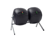 Double-composteur - 2 x 189 litres - 143.5 x 79.4 x 110.4 cm