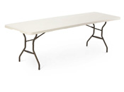 Table pliante - 244 x 76 cm