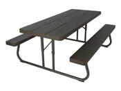 Table pique-nique rectangulaire - 183 x 76 cm