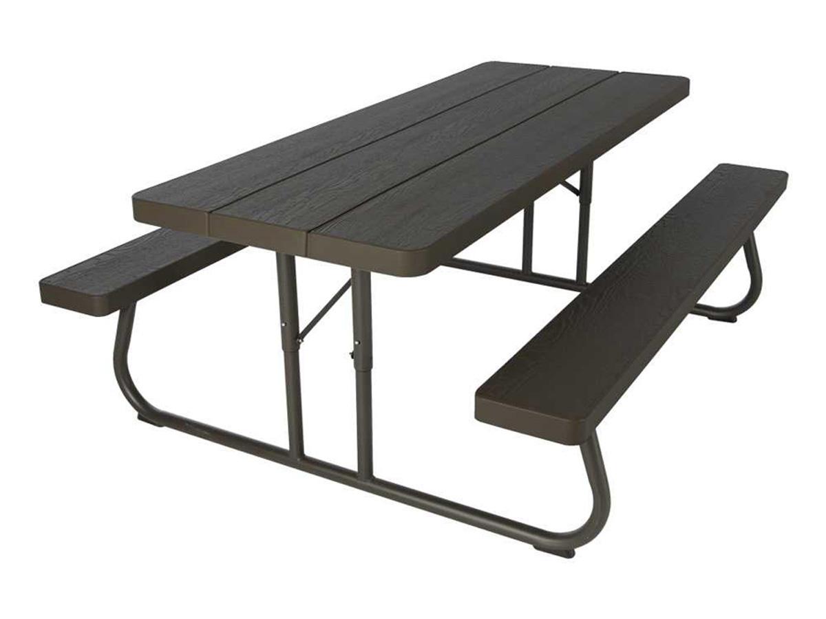 Table pique nique rectangulaire 183 x 76 cm 80287 for Sav habitat et jardin