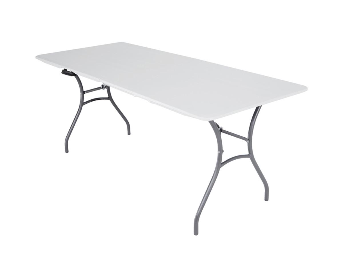 Table de jardin pliante - 1,83 x 0.76 x 0.74 cm 80374