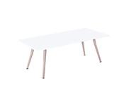 """Table basse """"Timmy"""" - 110 x 50 x 40 cm - Blanc"""
