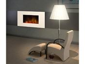 """Cheminée électrique design """"White loft""""- Color Style - 1000 W ou 2000 W"""