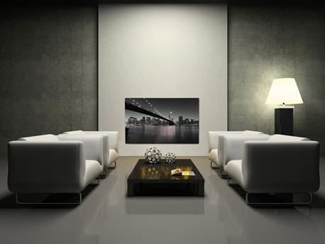 """Radiateur électrique design """"New York by Night"""" - 1000 W ou 2000 W"""