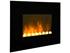 """Cheminée décorative design """"Black Fire"""" - 2000 W"""