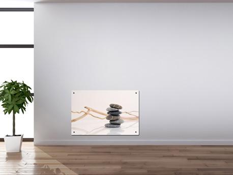 """Radiateur décoratif électrique """"Galets Zen""""- 1000 W ou 2000 W"""