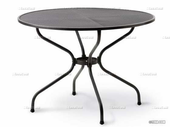 Table de jardin - diamètre : 90 cm 1481 1482