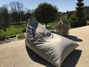 "Pouf jardin ""Berlingo Big Bag"" - Taupe"