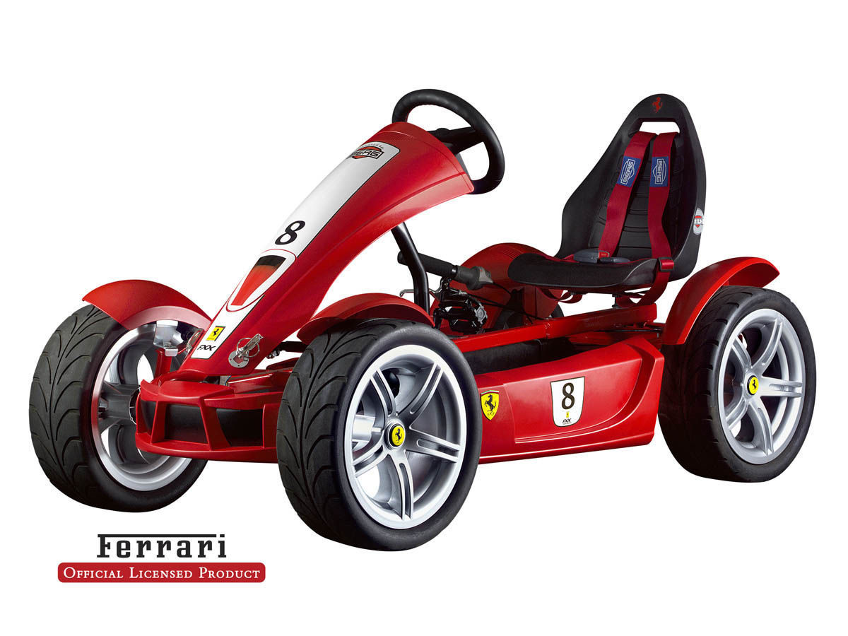 kart p dales ferrari fxx exclusive rouge 5 ans. Black Bedroom Furniture Sets. Home Design Ideas