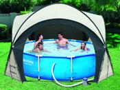 Dome pour Spa & Piscine - 3.90 x 3.90 x 2.55 m
